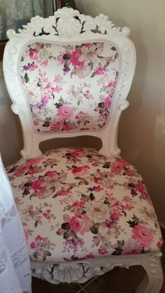 Idea for great grandmother's chair.