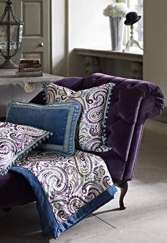 Prestigious Textiles have been designing beautiful interior fabrics and wallpapers for over 30 years. Choose from the UK's widest range of upholstery, cushion and curtain fabrics. Interior Styling, Interior Decorating, Prestigious Textiles, Modern Prints, Wingback Chair, Interior Design Inspiration, Home Goods, Upholstery, Pillows