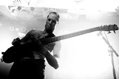 Ryan Martinie. bassists make good faces.
