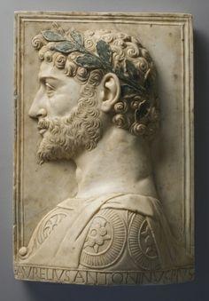 Aurelius Antoninus Pius, late 1400s. Italy, Lombard School, 15th century.