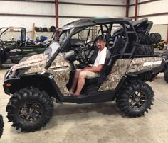 Thanks to Charles Barnes from Hattiesburg MS for getting a 2016 Can Am Commander Hunting Edition 1000 Mossy Oak Camo at Hattiesburg Cycles