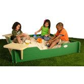 "Found it at Wayfair - 60"" x 60"" Sandbox with Cover"