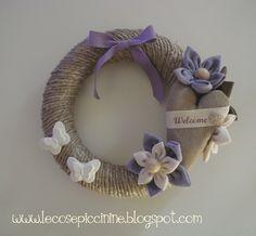 ghirlande fiori stoffa - Cerca con Google