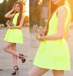 Ariadna M. - Neon dress