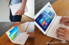 This is the newest thin Windows 8 tablet from Samsung (Ativ Tab 3). It will be released on September 1 in USA.
