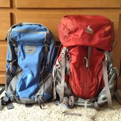 Backpacks for long trips- tips and tidbits
