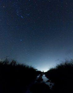 ¿Cómo tomar fotos al cielo de noche?