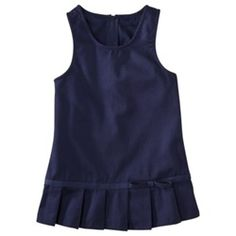 Wholesale Girls School Uniform Pleated Hem Jumper in Navy are not only super comfortable, but also super durable. Beautiful Pleated Hem makes girls feel stylish and comfortable with this new design of School uniform Jumpers. Toddler School Uniforms, Kids Uniforms, School Uniform Girls, Girls School, School Outfits, High School, Baby Girl Dresses, Girl Outfits, University Outfit
