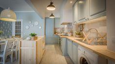 Tânia Martins   Cozinha   Kitchen   Blue   Mosaic   Rustic   Home   Interior…