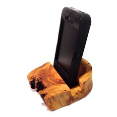 Aspen Log iPhone Stand / Smartphone Stand / iPhone Dock / Tablet Stand on Etsy, $22.00