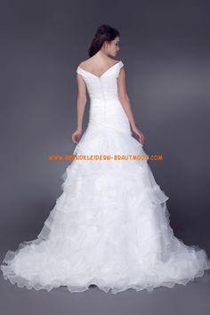 A-linie Tolle Schicke Brautkleider aus Organza