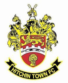 Hitchin Town, Hertfordshire, England crest.
