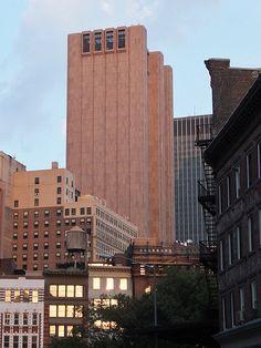 Long Lines Building, John Carl Warnecke, NYC