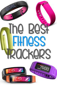 5 Best Fitness Trackers... I have the FitBit Flex and Nick has the Jawbone Up. We love them!