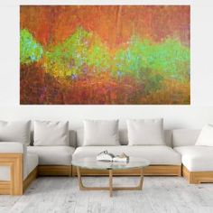 Buy Towards Unknown - XXL colorful abstract painting, Acrylic painting by Ivana Olbricht on Artfinder. Discover thousands of other original paintings, prints, sculptures and photography from independent artists. Dark Interiors, Abstract Styles, Ivana, Acrylic Painting Canvas, Abstract Landscape, Warm Colors, Lovers Art, Interior Design, Pink