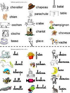 phonologie et lecture en maternelle : son [ch]