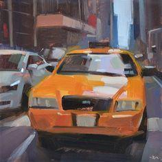 "Daily Paintworks - ""Take You Anywhere"" - Original Fine Art for Sale - © Carol Marine"
