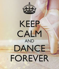 KEEP CALM AND DANCE FOREVER. Another original poster design created with the Keep Calm-o-matic. Buy this design or create your own original Keep Calm design now.