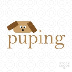 Puping - #logo #sale #animal #dog #cute