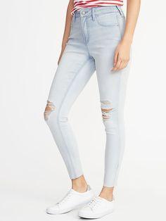 1af507b49d5ef High-Rise Secret-Slim Pockets Rockstar Ankle Jeans for Women