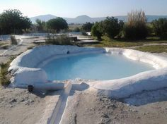"""Bagnaccio"" Hot Springs - Viterbo - cheap solution with some comfort ... open from 7 a.m. to midnight"