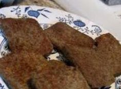 A breakfast staple that must be done crunchy-chewy. I LOVE SCRAPPLE.at least weekly! Sausage Recipes, Pork Recipes, Cooking Recipes, Yummy Recipes, Kitchen Recipes, A Food, Good Food, Food And Drink