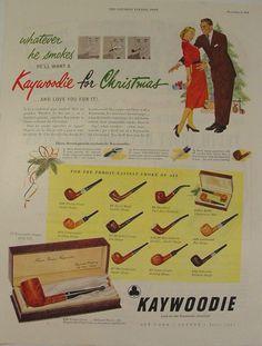 Kaywoodie Christmas ad