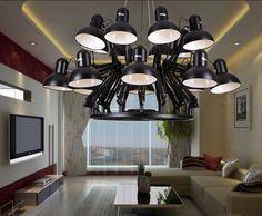 New Modern Design Chandelier Lighting Suspension Light Spider Pendant Lamp. Modern Pendant Light, Glass Pendant Light, Pendant Light Fixtures, Modern Chandelier, Pendant Lamp, Chandelier Lighting, Round Pendant, E Design, Modern Design