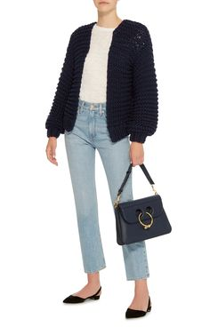 Ribbed Cotton Cardigan by I LOVE MR. MITTENS Now Available on Moda Operandi