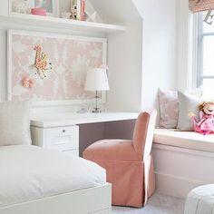 Over The Desk Shelf, Contemporary, girl's room, Terris Lightfoot