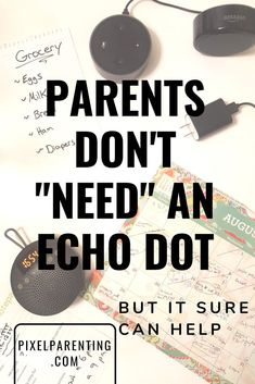 Echo and Alexa can help parents care for and entertain children, organize the house, and generally parent even better. You may not need and Echo dot, but it sure can help. Practical Parenting, Parenting Advice, Vitamins For Kids, Toddler Behavior, Raising Girls, Parenting Toddlers, Kids Nutrition, Health Advice, Mom Blogs