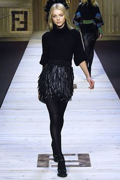 Fendi Fall 2007 Ready-to-Wear Fashion Show Collection