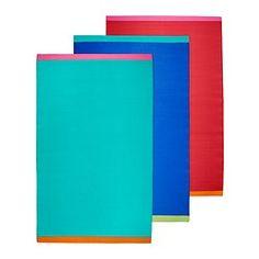 SPRINGKORN rug, flatwoven, assorted colors Length: 9  10  Width: 5  11  Surface density: 1 oz/sq ft Length: 300 cm Width: 180 cm Surface density: 440 g/m²