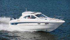 With the Yamarin 68 Cabin, you can begin the boating season right after the thaw and continue until the water freezes, travelling comfortably inside the cabin. Boater, Power Boats, Ranger, Cabin, Ds, Vehicles, Ships, Boats, Boating