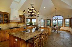Big country kitchen