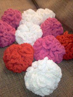 Crocheted bath poof pattern by Hendrix9906 on Etsy, $4.50