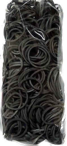 Official Rainbow Loom 600 Ct. Rubber Band Refill Pack GRAY