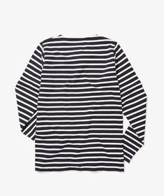 Norse Projects Godtfred Classic Compact t-shirt - Cut in relaxed fit, this long-sleeved top is made from a compact jersey, knitted in France with all-over Normandy stripes and a dry hand-feel. Norse Projects, Cut Shirts, Compact, Long Sleeve Tops, Classic, Women, Fashion, Moda, Women's