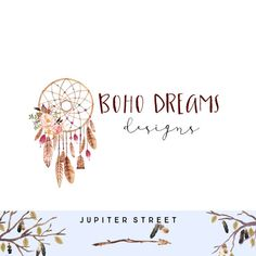 What Are Dream Catchers For Dreamcatcher Logo Design  Dream Catcher Logo  Blog Logo  Feather