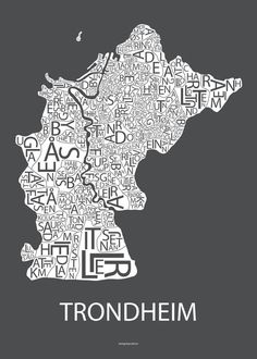 Plakat Poster Trondheim