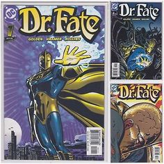 Dr. FATE (1 2 3) DC comics LOT run 2003 1st issue