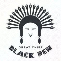 Great Chief Black Pen logo
