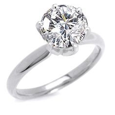 Many people say about 2 carat engagement ring is not big enough if it looks from the size of the gemstone. However, we think it is big enough and we have looked many people used ring like that too for engagement ring.