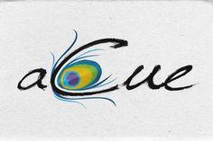 A Cue - Peacock Logo Design