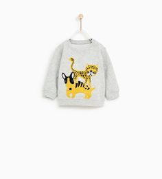 ANIMAL PRINT SWEATSHIRT-SWEATSHIRTS-BABY BOY | 3 months - 4 years-KIDS | ZARA United States