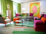 Glenwood Residence - eclectic - living room - little rock - by Tobi Fairley Interior Design