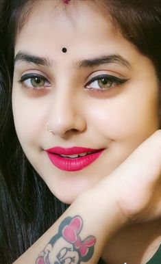 Most Beautiful Faces, Beautiful Eyes, Small Nose, Indian Girls Images, Stylish Girl Images, Girl Face, Indian Beauty, Close Up, Feelings