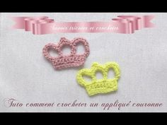 Tuto couronne au crochet, My Crafts and DIY Projects