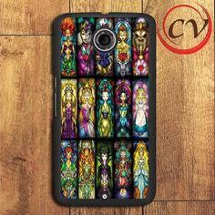 Princess Character Nexus 5,Nexus 6,Nexus 7 Case