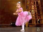 This is so cute you'll DIE.  A little 2 yr old was with her mom at a So You Think You Can Dance audition ....